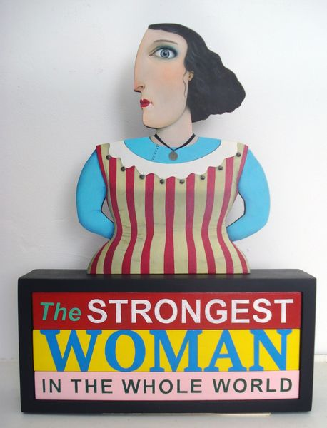 The World's Strongest Woman 350mm high