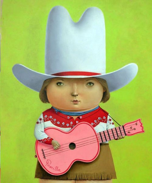 Priscilla the singing cowgirl