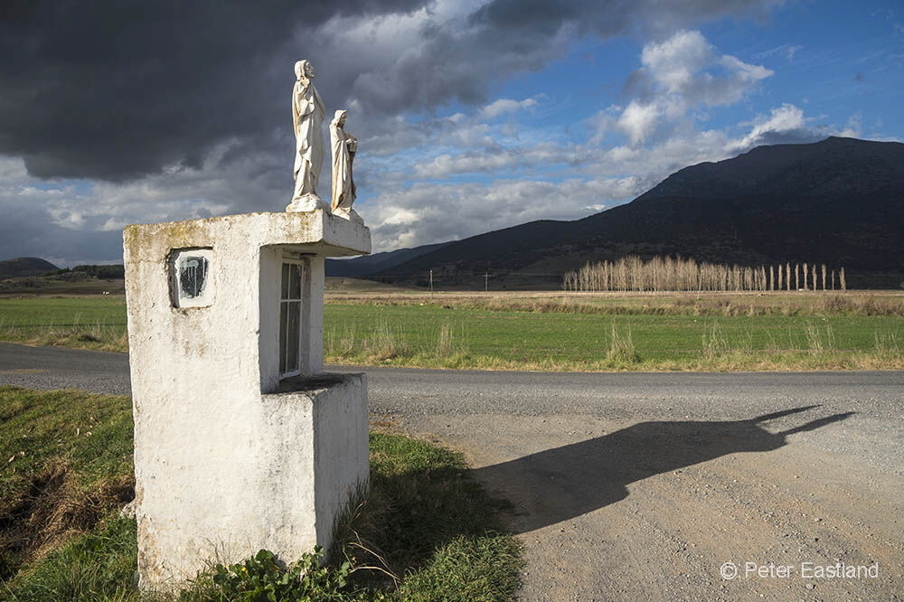 Roadside shrine, Mantineia, Arcadia, Greece<br><br><br><br><br><br><br><br>