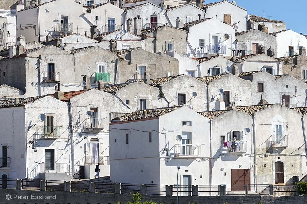 Monte Saint'Angelo, Gargano Peninsula, Pugli, Italy.<br><br><br><br><br><br>