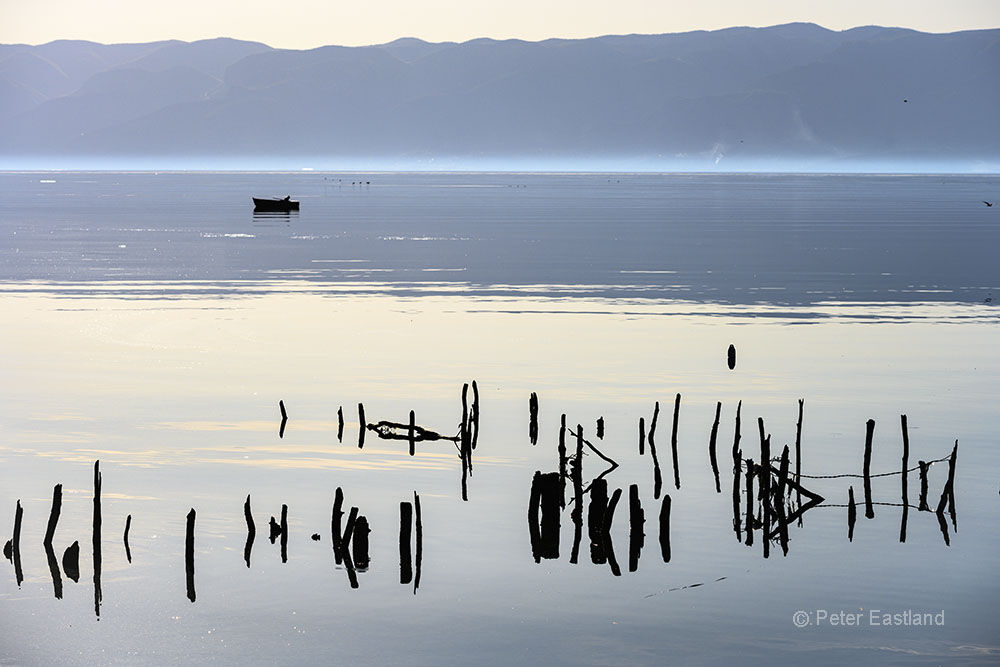 Lake Ohrid, North Macedonia.<br><br><br><br><br><br>