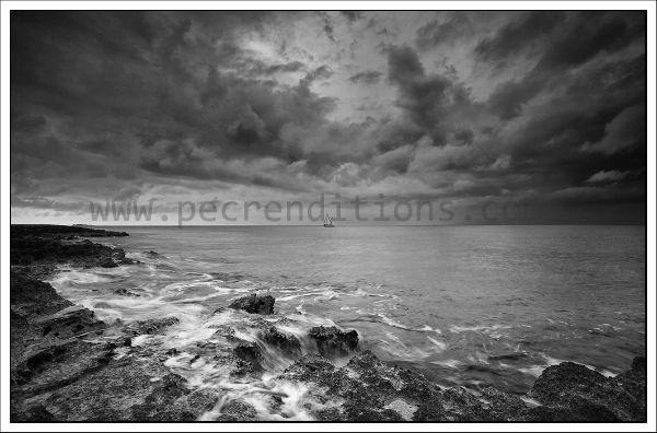 storm approaching atlantis