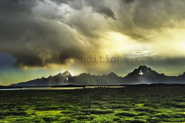 storm and sun battle