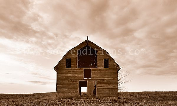 route 370 barn face