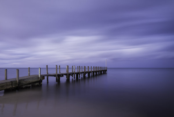 Quindalup Pier Sunset
