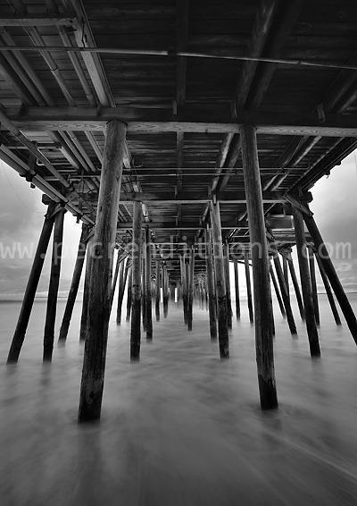 under the old orchard beach pier