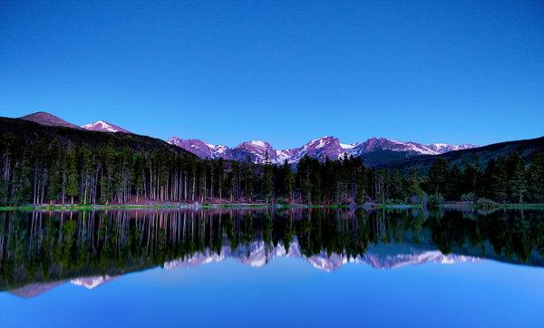sprague lake at rmnp