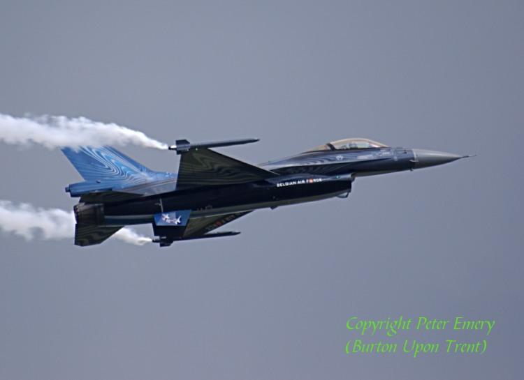 Belgian F16 [Peter Emery]