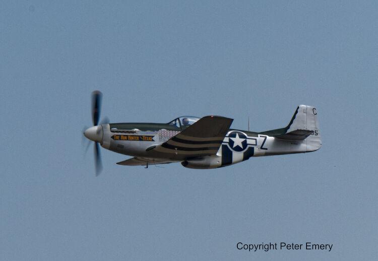"Mustang P-51D ""The Hun Hunter - Texas"