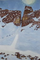 'Sunlight through the Breche - Quatre Termes'