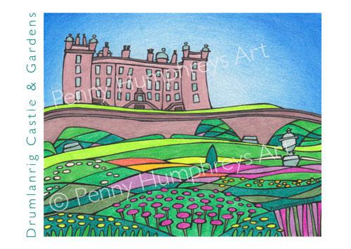 Drumlanrig Castle & Gardens