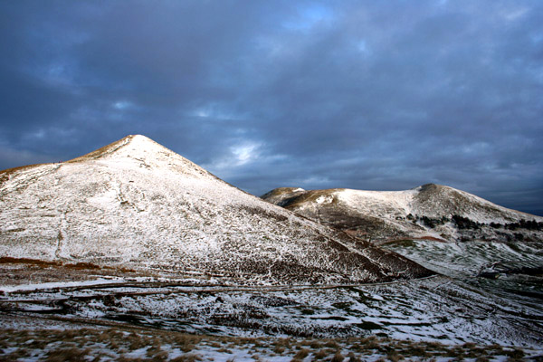 West Kip, Scald Law and South Black Hill