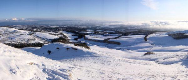 Winter Walk on Turnhouse Hill