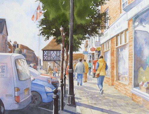 Royal Wootton Bassett High St 4