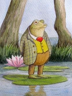 Mr Toad's Garden