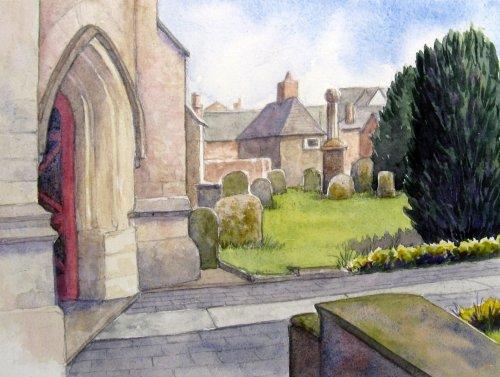 The Churchyard 2. St Barts, Royal Wootton Bassett