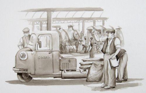 The GWR Works, Swindon