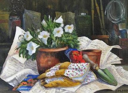 A Gardener's Still Life (Sold)