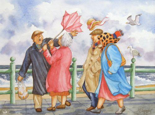 A Windy Walk (Sold)
