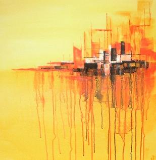 Abstract in Yellow (Sold)