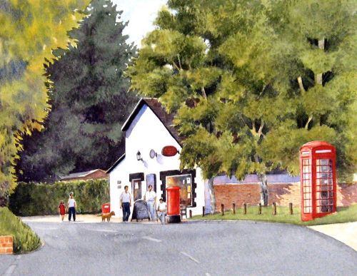 The Post Office, Broad Hinton