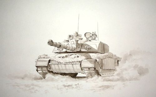 Challenger Tank (Not for sale)