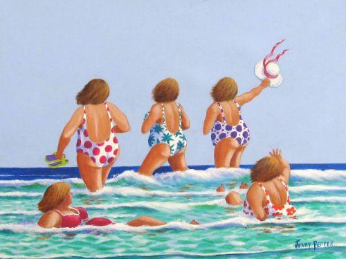 Surf's up! (Sold)