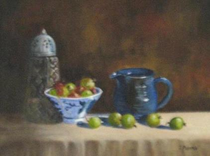 Still Life With Gooseberries (Sold)
