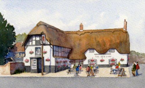 The Red Lion, Avebury