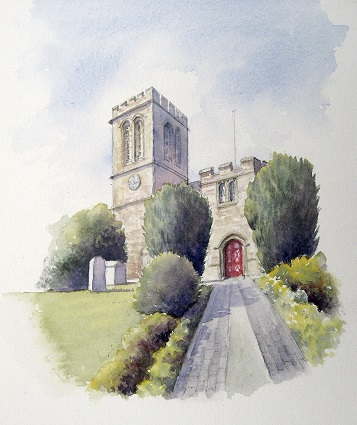 The Bell Tower, St Bartholamews Church, Royal Wootton Bassett
