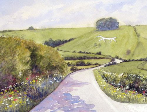 The Road to Hackpen Hill