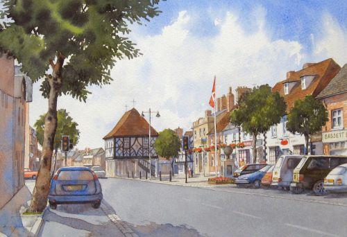 Royal Wootton Bassett High St. 3 (Sold)