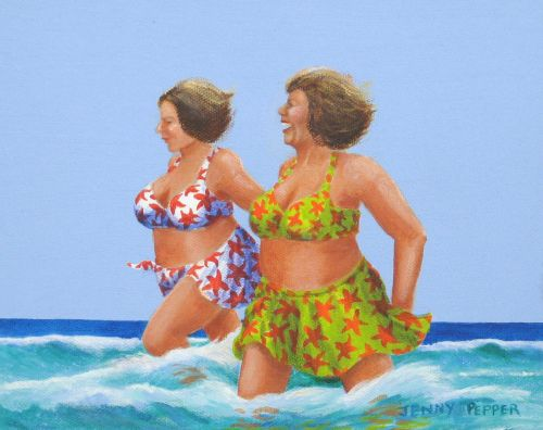Sun, Sea and Sisters (Sold)