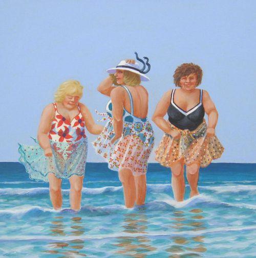 Sun, Sea and Sarongs (Sold)