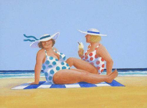 Sunbathers (Sold)