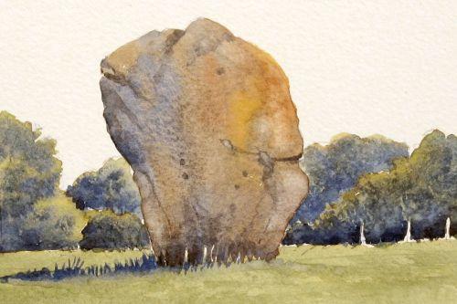 The Barber's Stone, Avebury