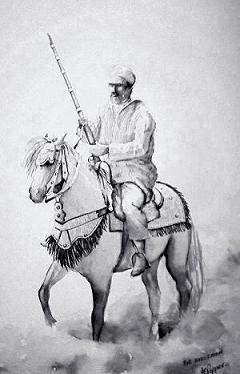 The Horseman (sold)