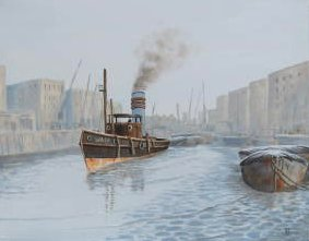 'The Wasp' at Wapping (Sold)