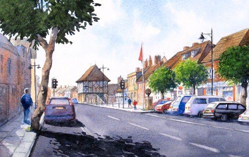 Royal Wootton Bassett High St. 1 (Sold)