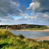 Alnmouth Cross and Estuary