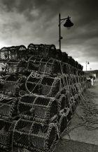Lobster pots on Tobermory Pier