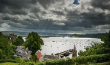 Clouds over Tobermory
