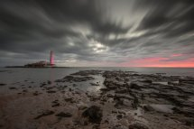 St Mary's Lighthouse Sunrise