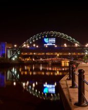 The Tyne Bridge , Rugby world Cup