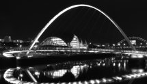 Millennium Bridge, Black and White