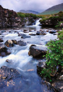 Flowing water on Mull