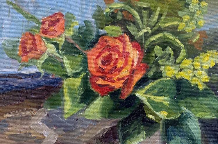 Autumn Roses - £110