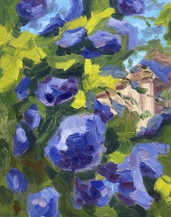 Sky Blues of Spring - £95