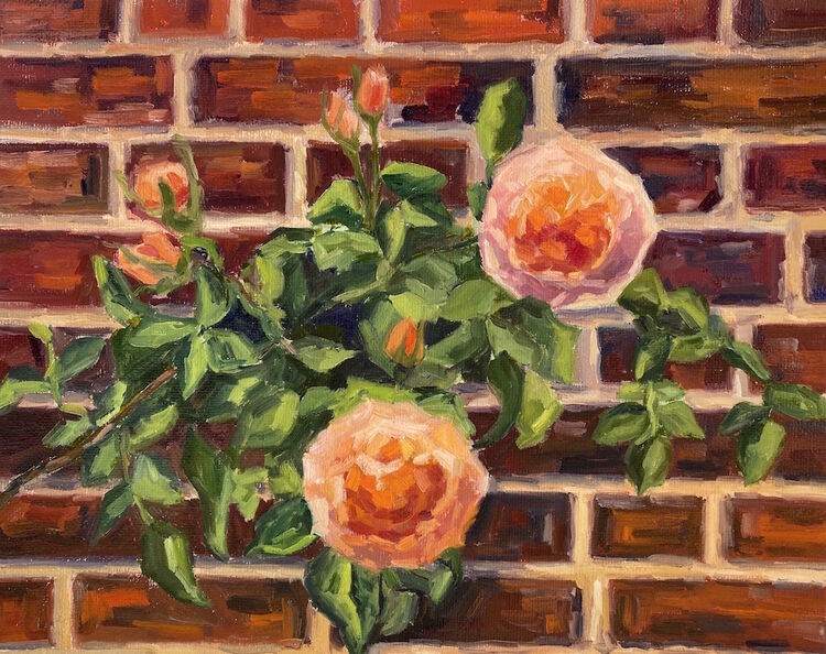 Click on the picture to see details <br>Roses from Hampton Court Garden - £350