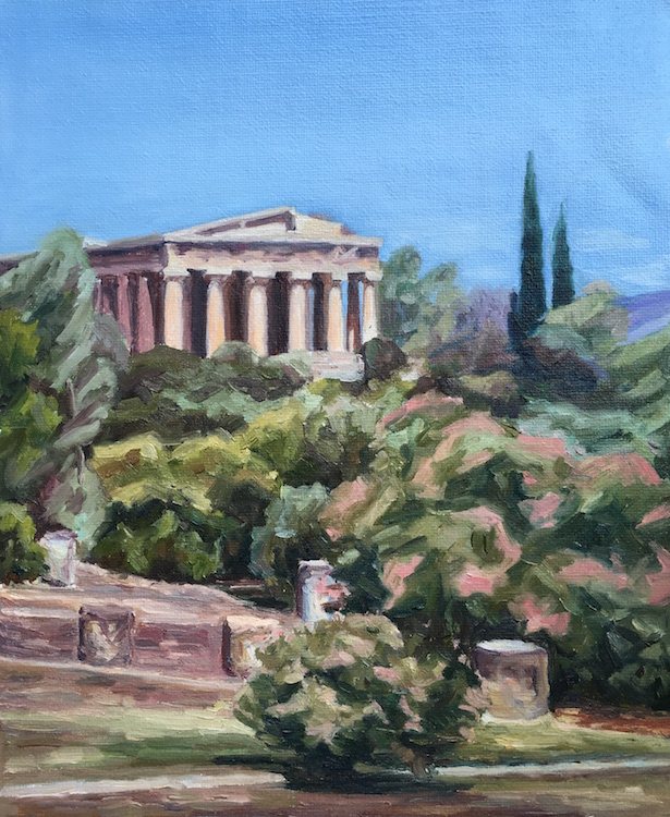 The View of the Temple of Hephaestus in Ancient Agora - £920